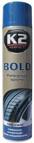 K2 BOLD TIRE CARE SPARY 600ML