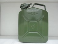 BOTTARI METTALIC FUEL JERRY CAN 5 lt