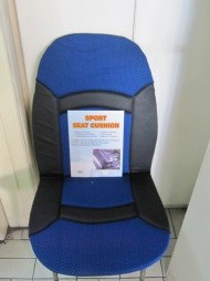 SPORT SEAT CUSHION BUE-BLACK