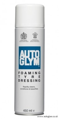 AUTO GLYM FOAMING TYRE DRESSING 450 ML