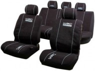 WRC FULL SET SEAT COVERS BLACK