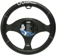 WRC STEERING WHEEL COVER BLACK