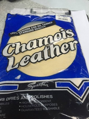 THE ORIGINAL CHAMOIS LEATHER 4.5 SQ FEET
