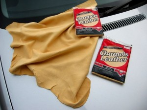 THE  ORIGINAL CHAMOIS LEATHER 2.75 SQ FEET