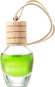 NATURAL FRESH MINI BOTTLE AIR FRESHENER 7 ML GREEN APPLE
