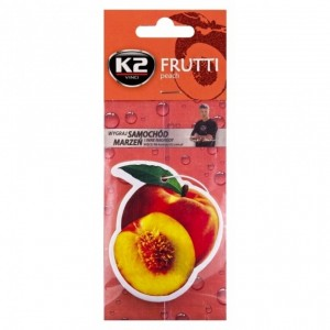 K2 FRUTTI CAR AIR FRESHNER PEACH
