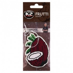 K2 FRUTTI CAR AIR FRESHNER COCONUT