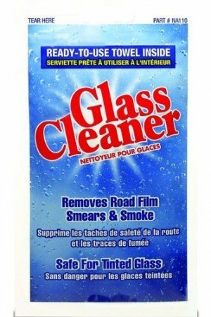 NORTH AMERICAN GLASS CLEANER WET TOWEL