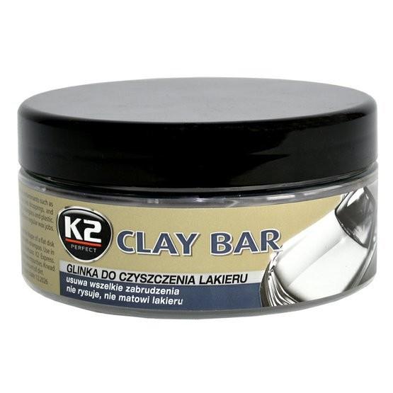 K2 Clay Bar Cleaning Compound 200g | Polish, Wax, Cockpit Spray